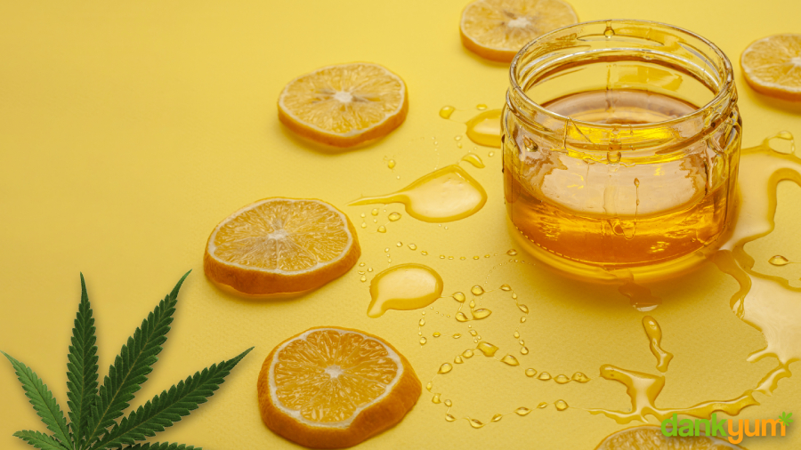 Flavoured Cannabis Simple Syrup