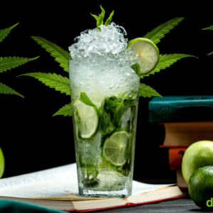 Cannabis Infused Mojito Cocktail