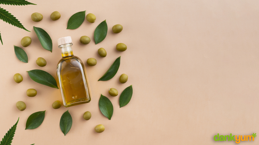 Weed Infused Olive Oil