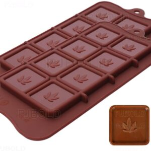 Cannabis Leaf Chocolate Moulds