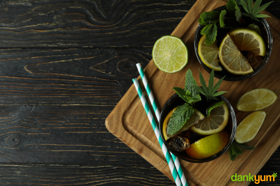 cannabis infused rum cocktails