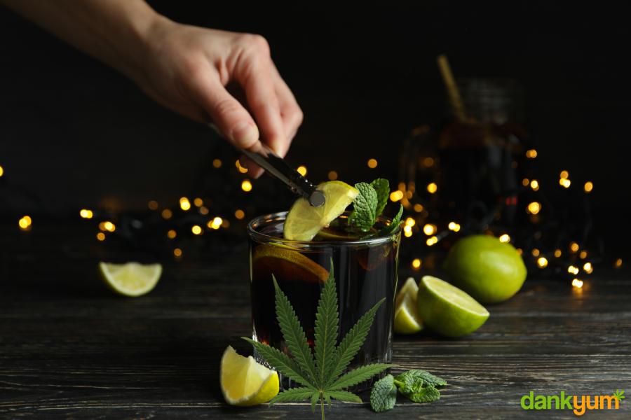 Cannabis infused rum
