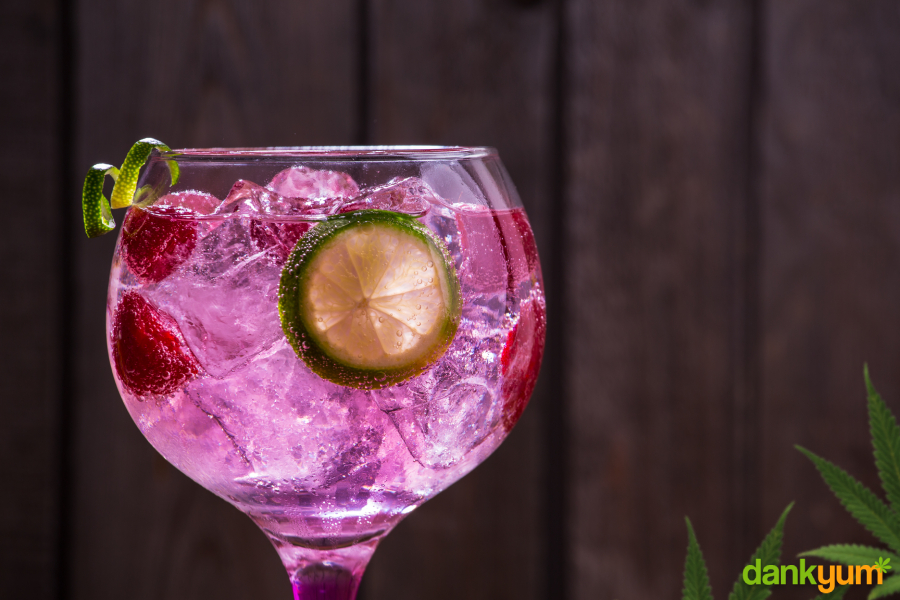 Cannabis Infused Gin & Tonic