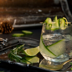Weed infused gin